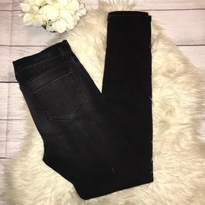 Gilded Intent Faded Black Skinny Jeans